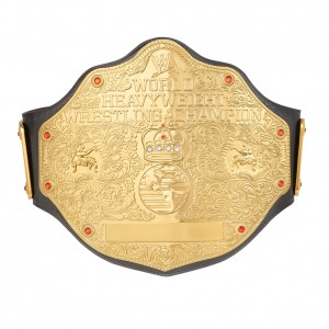 WWE World Heavyweight Championship Replica Title Belt (2mm Version)