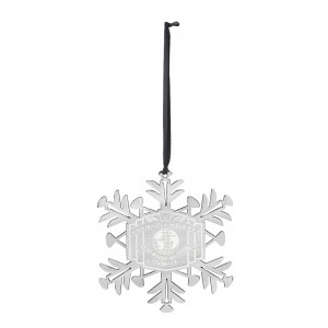 Intercontinental Championship Snowflake Ornament
