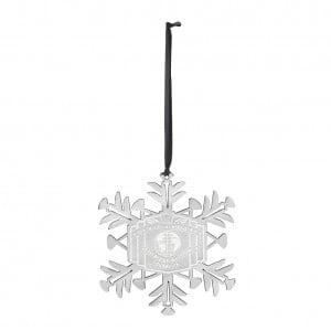 Intercontinental Championship Snowflake Ornament