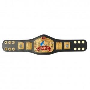 WWE European Championship Mini Replica Title