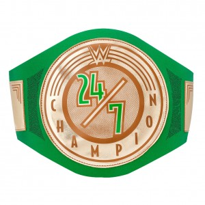 WWE 24/7 Championship Toy Title