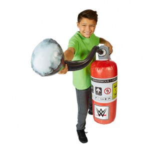 WWE Airnormous Fire Extinguisher Inflatable Toy