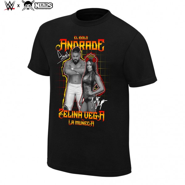 """Andrade & Zelina """"El Idolo"""" Neon Collection Graphic T-Shirt"""