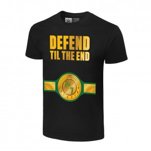 "24/7 Championship ""Defend Til The End"" T-Shirt"