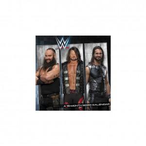 WWE Superstars 2020 Mini Wall Calendar