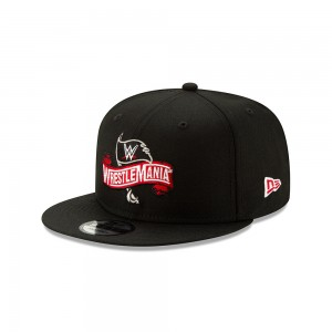WrestleMania 36 Logo 9Fifty New Era Snapback Hat
