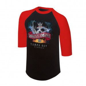 WrestleMania 36 3/4 Sleeve Raglan Shirt