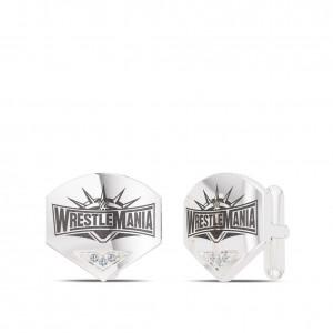 WrestleMania 35 Bixler Cuff Links in Sterling Silver