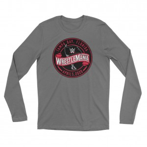 WrestleMania 36 Logo Long Sleeve Shirt