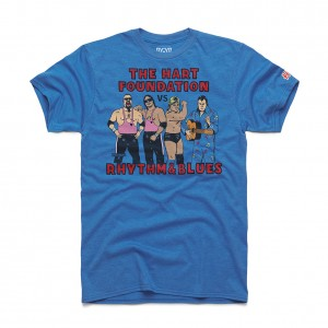 Hart Foundation v. Rhythm & Blues WM5 Homage T-Shirt