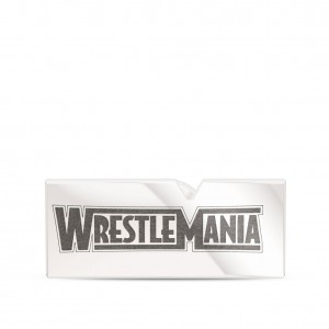 WrestleMania 35 Bixler Pin in Sterling Silver