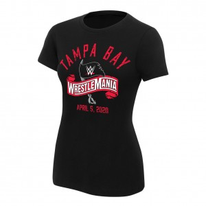 WrestleMania 36 Logo Women's T-Shirt