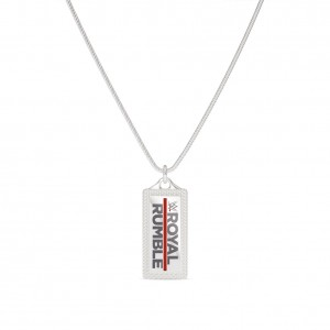 Royal Rumble Bixler Dog Tag in Sterling Silver