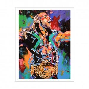 Shawn Michaels Rob Schamberger 11 x 14 Art Print
