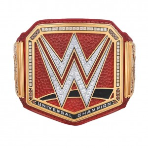 RAW Universal Championship Official TV Authentic Title Belt