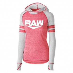 RAW Women's Lightweight Pullover Hoodie Sweatshirt