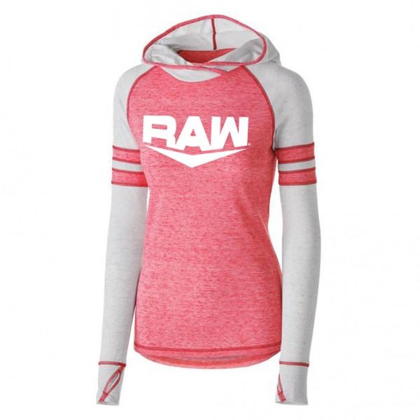 RAW Women's Lightweight Pullover Hoodie Sweatshirt