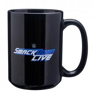 SmackDown Live Logo 15 oz. Mug