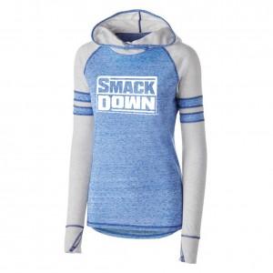 SmackDown Women's Lightweight Pullover Hoodie Sweatshirt