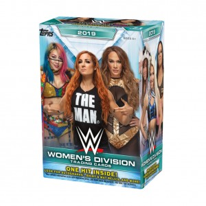 WWE Women's Division 2019 Topps Trading Card Box Set