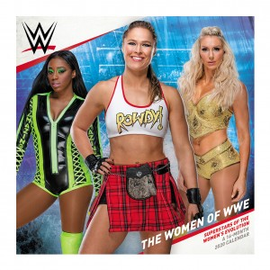 The Women of WWE 2020 Wall Calendar