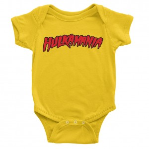 "Hulk Hogan ""Hulkamania"" Baby Creeper"