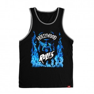 "Hulk Hogan ""Hollywood Rules"" Sportiqe Tank Top"