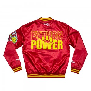 "Hulk Hogan ""Python Power"" Fanimation Chalk Line Jacket"