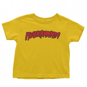 "Hulk Hogan ""Hulkamania"" Toddler T-Shirt"