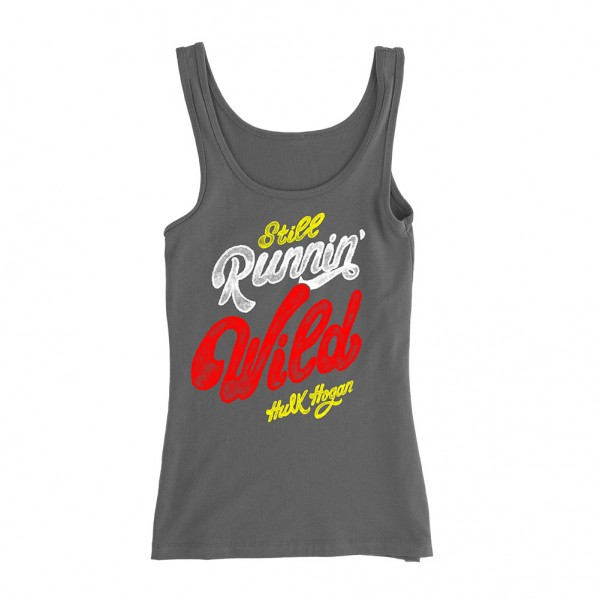 "Hulk Hogan ""Still Runnin' Wild"" Women's Tank Top"