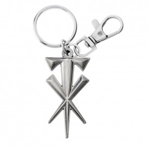 Undertaker Cross Keychain
