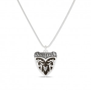 Undertaker Name Bixler Pendant in Sterling Silver