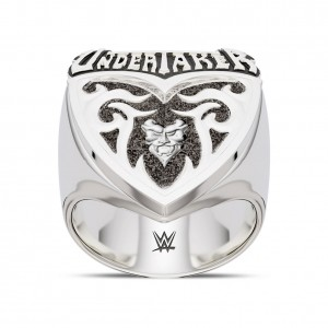 Undertaker Name Bixler Ring in Sterling Silver