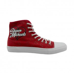 Shawn Michaels Lace-Up Hi Chalk Line Sneaker