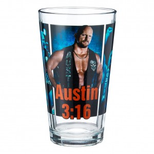 Stone Cold Steve Austin Superstar Pint Glass
