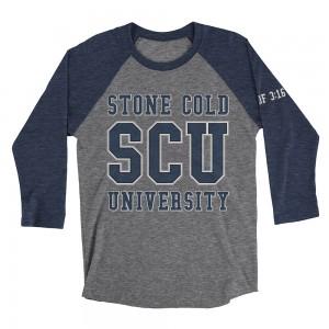 "Stone Cold Steve Austin ""Stone Cold University"" Raglan T-Shirt"