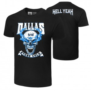 "Stone Cold Steve Austin ""Hell Yeah: Dallas"" T-Shirt"