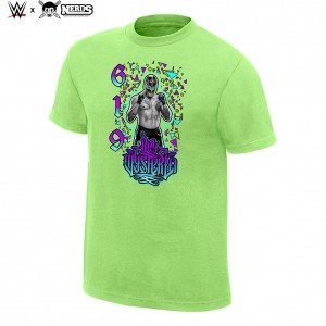 "Rey Mysterio ""619"" Neon Collection Graphic T-Shirt"