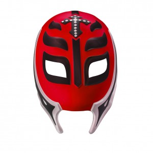 Rey Mysterio Red/Black Plastic Mask