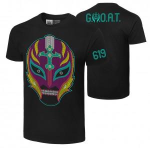 """Rey Mysterio """"Booyaka 619"""" Authentic T-Shirt"""