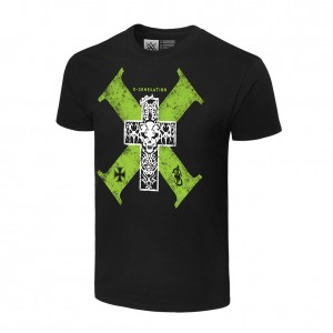 "D-Generation X ""Cross"" Retro T-Shirt"