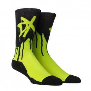 "D-Generation X ""Spray"" Rock' Em Socks"