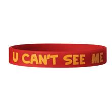 "John Cena ""U Can't C Me"" Silicone Bracelet"