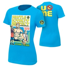 "John Cena ""Throwback"" Women's Authentic T-Shirt"