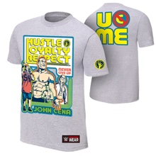 "John Cena ""Throwback"" Gray Authentic T-Shirt"