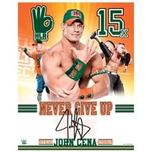 "John Cena 11"" x 14"" Signed Photo"