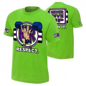 "John Cena ""Cenation Respect"" Youth Authentic T-Shirt"