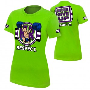 "John Cena ""Cenation Respect"" Women's Authentic T-Shirt"