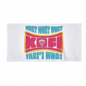 "Kofi Kingston ""Kofi Thats Who!"" 30 x 60 Towel"