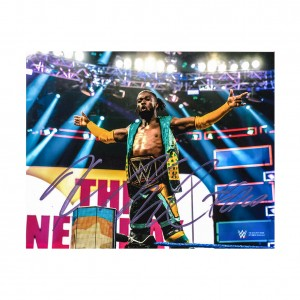 Kofi Kingston 8 x 10 Autographed Photo